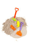 Plastic toys for beach and vacation Stock Image