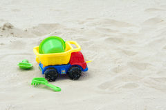 Plastic toys Stock Images