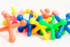 Plastic toys Stock Photos