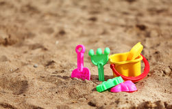 Plastic toys for the kids Stock Image
