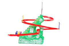 Plastic toys for small children Stock Images