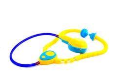 Plastic toys Stethoscope Royalty Free Stock Images