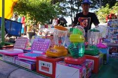 Plastic toys Royalty Free Stock Photos