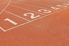 Plastic track Royalty Free Stock Images
