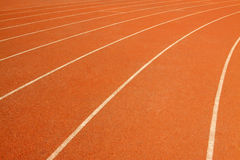 Plastic track Royalty Free Stock Photography