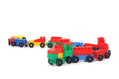 Plastic train Royalty Free Stock Photo