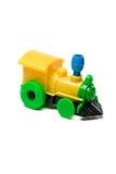 Plastic train toy Stock Photos