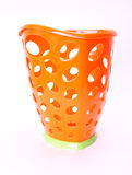 Plastic trash can Stock Images