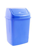 Plastic trash can Royalty Free Stock Photo
