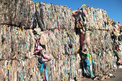 Plastic trash for reuse Stock Photography