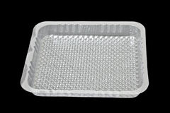 Plastic tray Royalty Free Stock Image