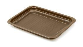 Plastic tray Stock Image