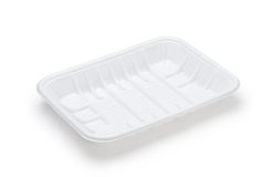 Plastic tray Stock Photos
