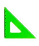 Plastic Triangle Stock Image