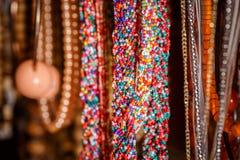 Plastic trinkets jewelry Stock Photos
