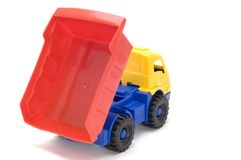 Plastic truck Royalty Free Stock Image
