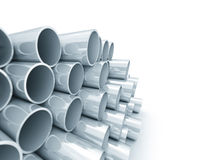 Plastic tube Royalty Free Stock Images