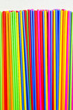 Plastic tube variety of colors. Royalty Free Stock Photo
