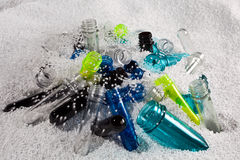 Plastic tubes. A different colour of plastic tubes Royalty Free Stock Image