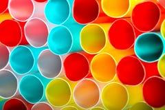 Plastic tubes Royalty Free Stock Image