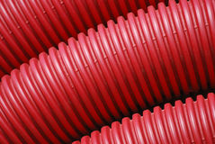 plastic tubes Royaltyfria Foton