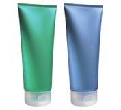Plastic tubs Royalty Free Stock Photo