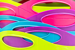 Plastic tubs Royalty Free Stock Photos