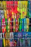 Plastic Umbrellas Stock Images