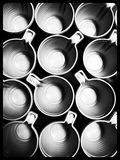 Plastic сup Royalty Free Stock Photography