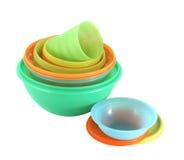 plastic utensils Royaltyfria Foton