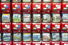 Plastic Vending Machine Stock Photography