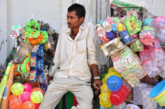 Plastic Vendor Royalty Free Stock Photo