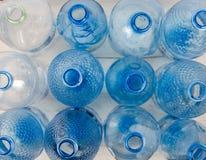 Plastic verontreinigings recyclerend centrum stock fotografie