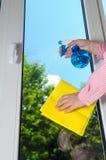 Plastic vinyl window Royalty Free Stock Photography