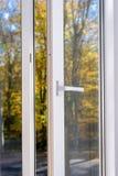 Plastic vinyl window Royalty Free Stock Photo