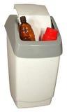 Plastic vuilnisbak Stock Foto's