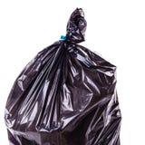 Plastic vuilniszakdetail Stock Foto