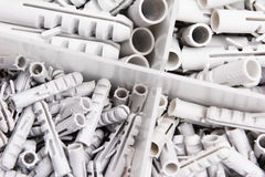Plastic Wall Plugs Stock Image