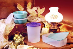 Plastic Ware Royalty Free Stock Images