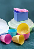 Plastic Ware Stock Photos