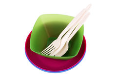 Plastic ware Royalty Free Stock Image