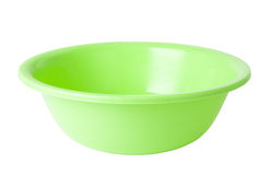 Plastic wash bowl Royalty Free Stock Image