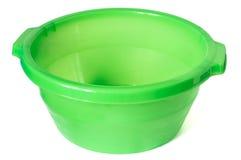 Plastic washbowl Stock Photo