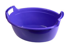 Plastic washing bowl Stock Photos
