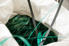 Plastic waste. In the bag Stock Photography