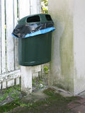Plastic waste bin Royalty Free Stock Photos