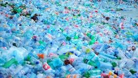 Plastic waste stock image