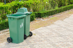 Plastic Waste Container Stock Photos