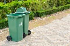 Plastic Waste Container Stock Photos