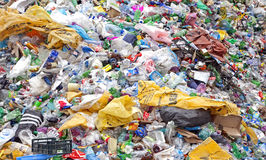 Plastic waste royalty free stock photo